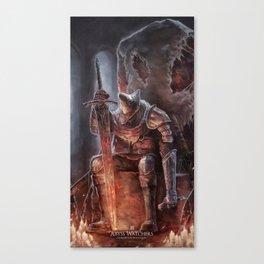 Abyss Watcher - Dark Souls 3 Canvas Print