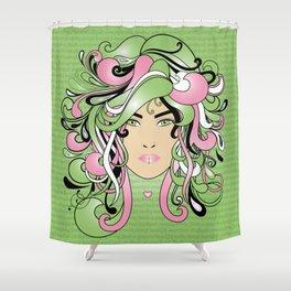 I AM AN AKA WOMAN Shower Curtain