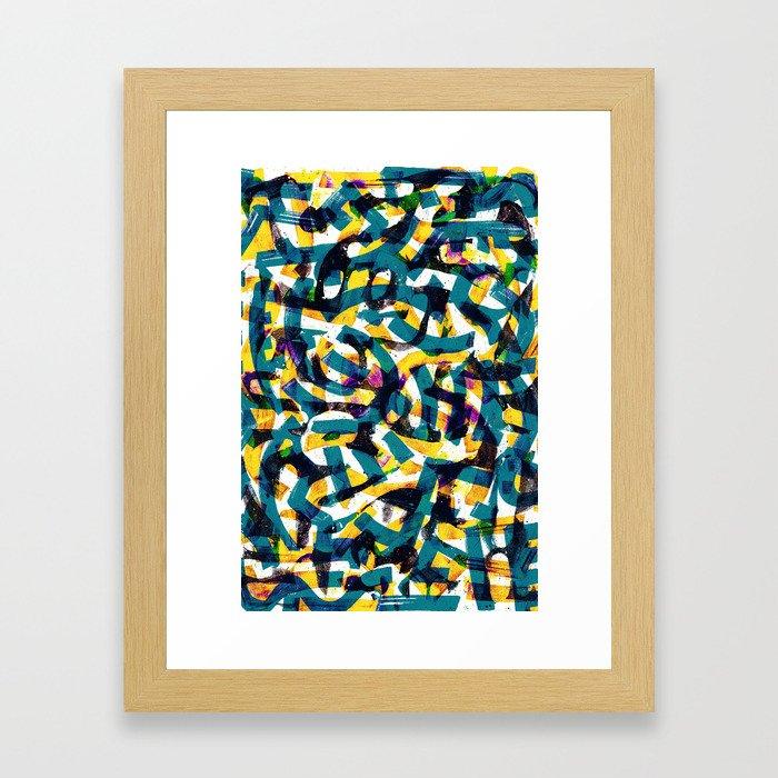 Pattern № 41 Framed Art Print