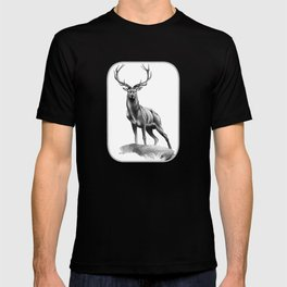 All Muscle - Red Deer Stag T-shirt