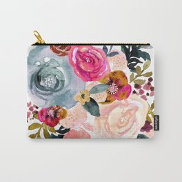 Autumn Rose Carry-All Pouch