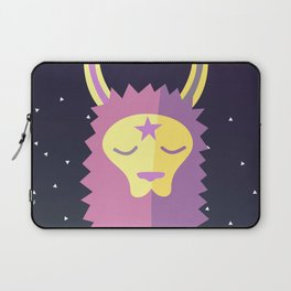 Yacana: The Space Llama Head Laptop Sleeve