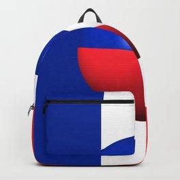 France Flag Sphere Backpack