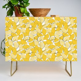 ginkgo leaves (yellow) Credenza
