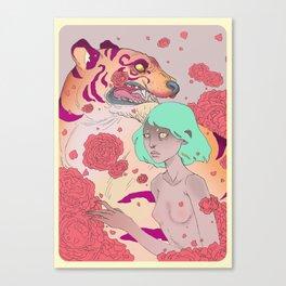 Tiger Blossom Canvas Print