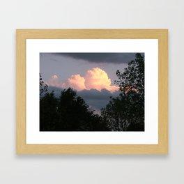 Missouri Sunset Framed Art Print