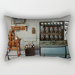 Vintage Comunication Rectangular Pillow