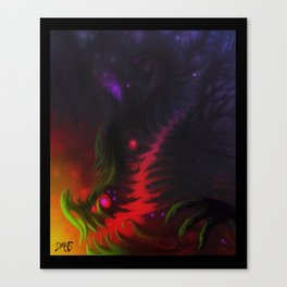 nightmare mouth Canvas Print