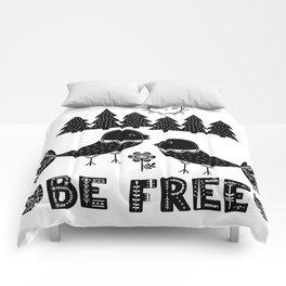 Be Free Birds In Cute Scandinavian Style Comforters