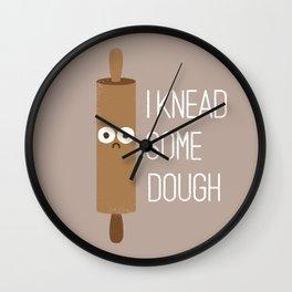 Short Bread Wall Clock