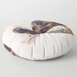 BAROQUE SNAKE Floor Pillow