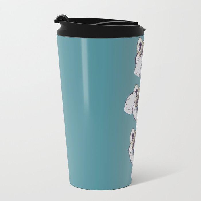 No Evil Husky Travel Mug