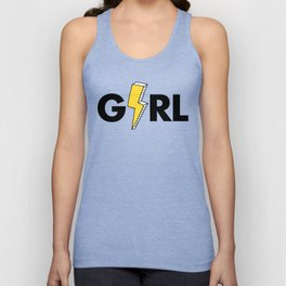 Girl Power Unisex Tank Top