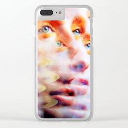 Eyes like Butterflies Clear iPhone Case