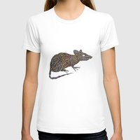 techno T-shirts featuring Techno Rat by mariotarrago