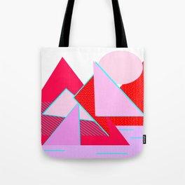 Hello Mountains - Flowering Slopes Tote Bag