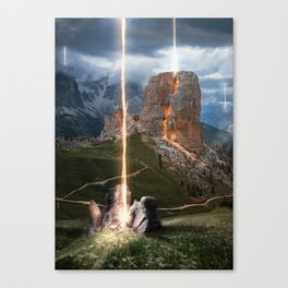 What if it ended? Canvas Print