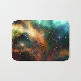 Galaxy colors Bath Mat