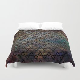 All Seeing Pattern Duvet Cover