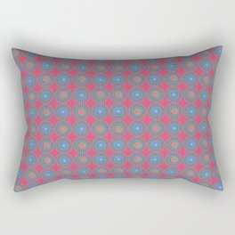 Spinners Pattern Rectangular Pillow