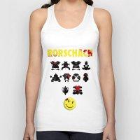 rorschach Tank Tops featuring Rorschach by Gabriel Freire