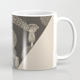 Art Nouveau Dandelion Seeds Coffee Mug
