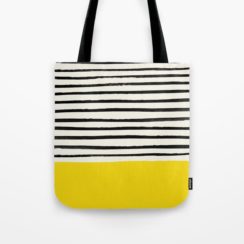 VIDA Tote Bag - Take the Ginkgo and Go by VIDA 4cE0iAfH