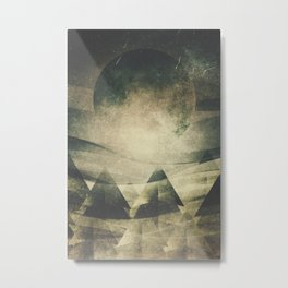 We are children of the moon Metal Print