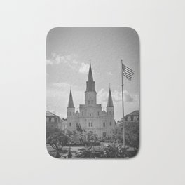 St. Louis Cathedral - Jackson Square, New Orleans Bath Mat