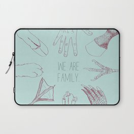 We Are Family Laptop Sleeve