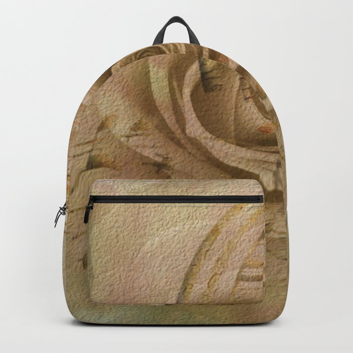 Timeless Love Abstract Backpack
