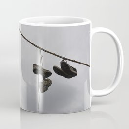 Shoes In The Air Coffee Mug