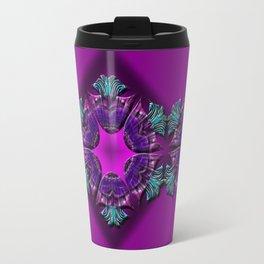 Abstract X Seven Travel Mug
