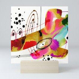 Abstract Serenade 4 by Kathy Morton Stanion Mini Art Print