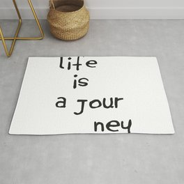 Life is a Journey Rug