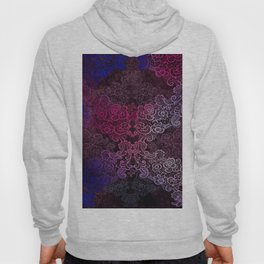 lace cascade pink Hoody