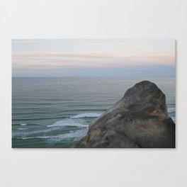 Sunset Rock Canvas Print
