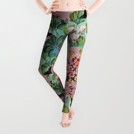 Vintage Flower Fairy Leggings