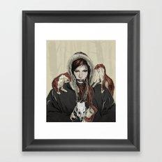 SKAÐI - Dweller of the Rocks Framed Art Print