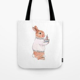 Friday Bun Tote Bag