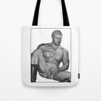 olaf Tote Bags featuring Olaf by vooduude