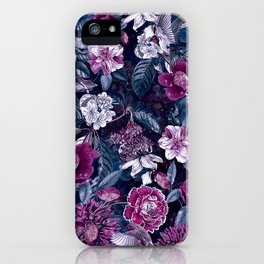 Floral Night iPhone Case