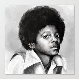 Young Michael Canvas Print