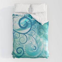 Remolino floral Comforters