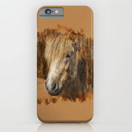 Icelandichorse Sketchart iPhone Case