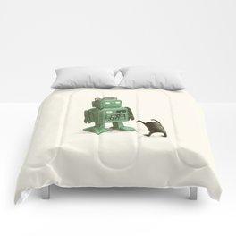 Robot vs Alien Comforters