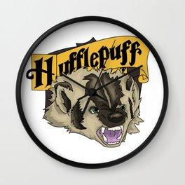 Ferocity of a Hufflepuff Wall Clock