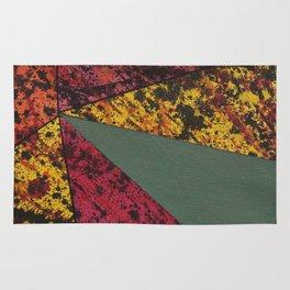Corner Splatter # 14 Rug