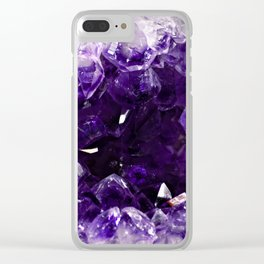 Amethyst - 1 Clear iPhone Case
