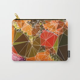 warm tone mosaic rock Carry-All Pouch